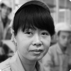 姓名:钱梅芳  岗位:HL线最终检查员  工作年限:10年