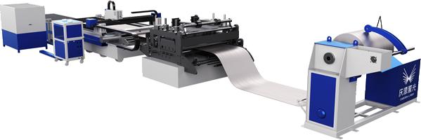 滾動鋸齒激光切割生產線
