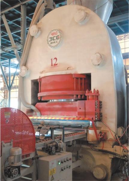 JCY4850 全自動液壓壓磚機