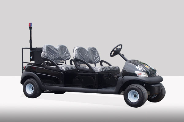 电动巡逻车(黑色无顶棚)