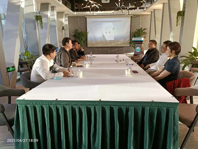 深化合作 低碳前行 國電南瑞研究院副院長王偉博士訪問百靈天地