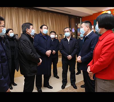 山東省商務廳副廳長王洪平到集團調研