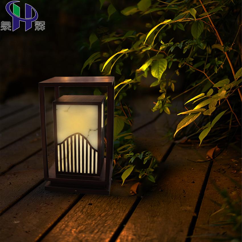 中式柱頭燈 / QH-ZZTD08