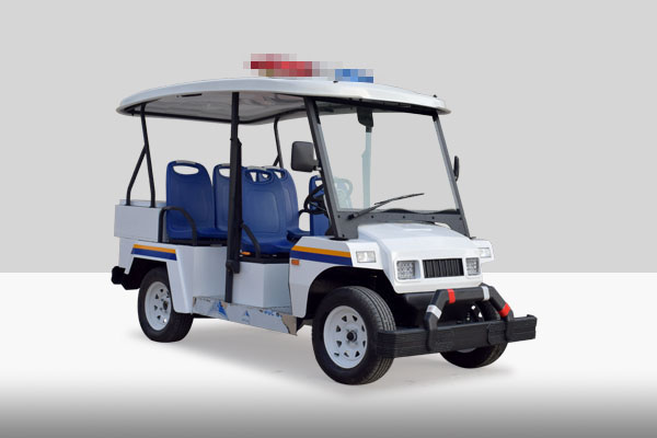 四轮治安巡逻电动车|封闭电动巡逻车