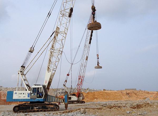 廣東陸豐核電站強夯項目