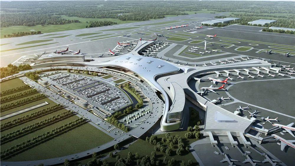 呼和浩特新机场项目航站区工程