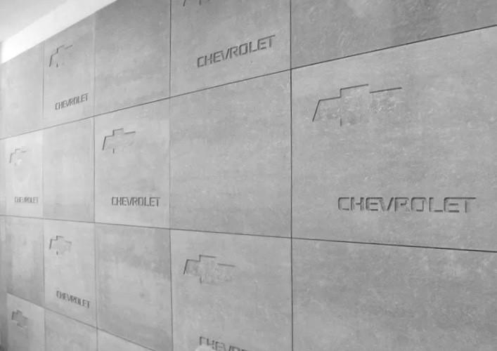 硅藻泥板材/墻板/企業文化元素雕刻