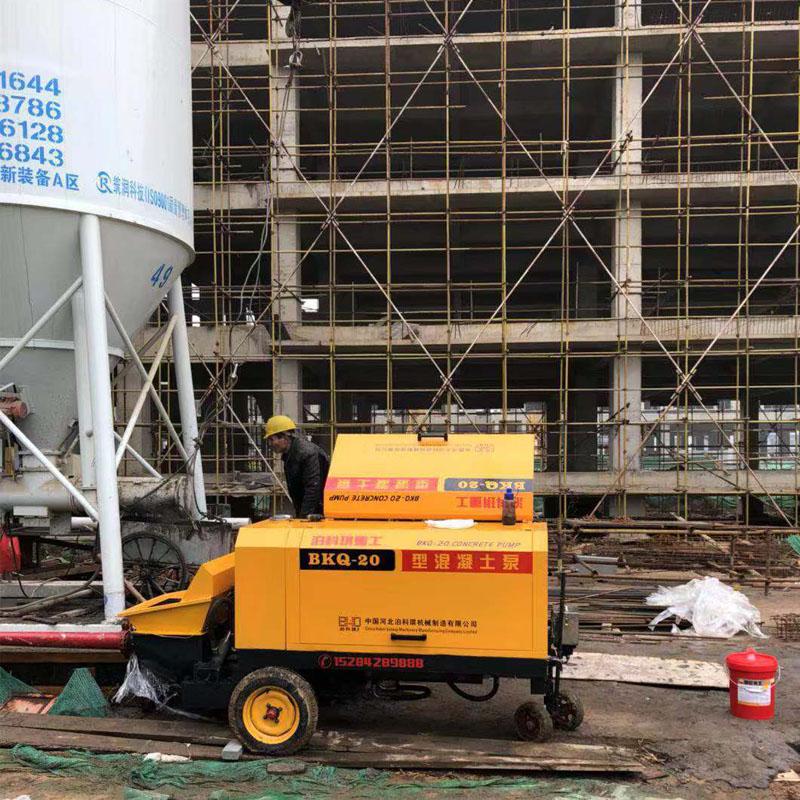 混凝土輸送泵:如何應對混凝土泵油溫快速上升