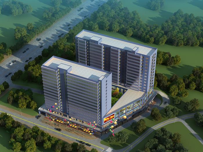 房屋建設工程施工-----南寧市仙葫上洲商業廣場