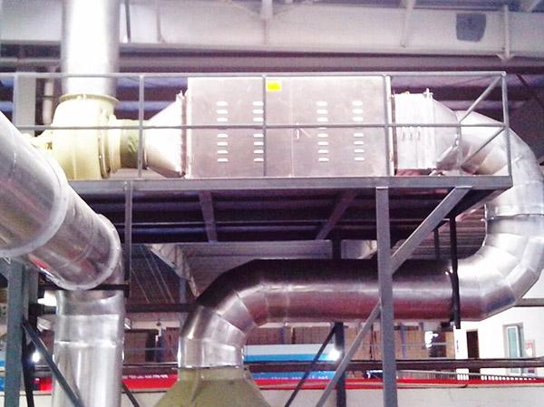 火電廠脫硝煙氣處理