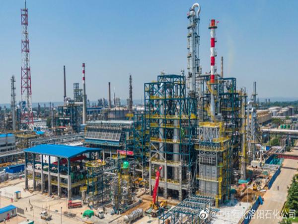 中国石化edf壴定发官网手机版新建12万吨/年乙苯-苯乙烯联合装置
