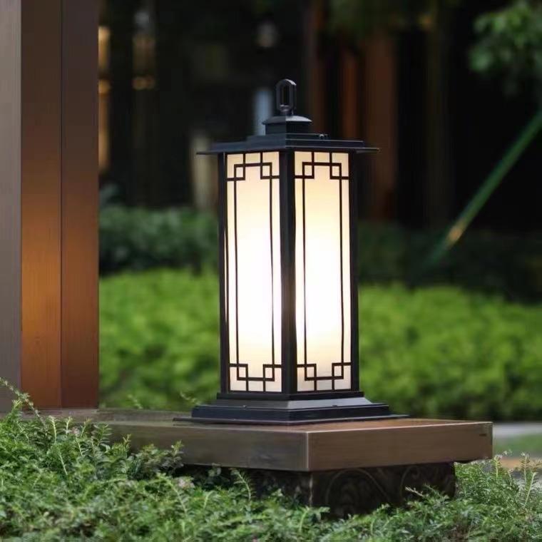 現代柱頭燈 / QH-XZTD02