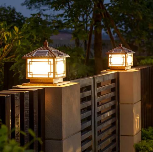 太陽能柱頭燈 / QH-TZTD02