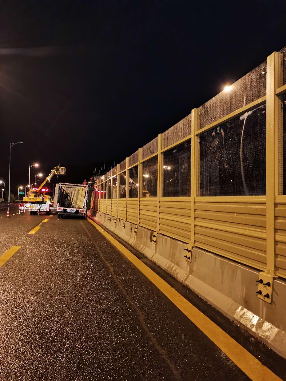深圳市羅沙路聲屏障