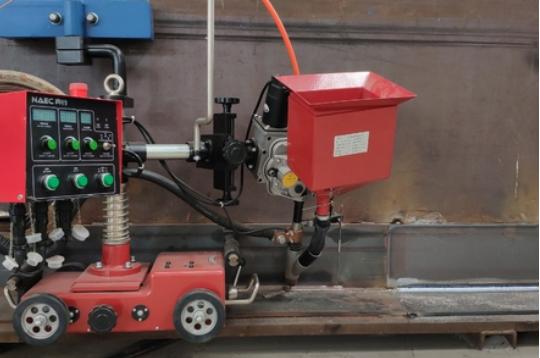 角平縫自動焊接設備