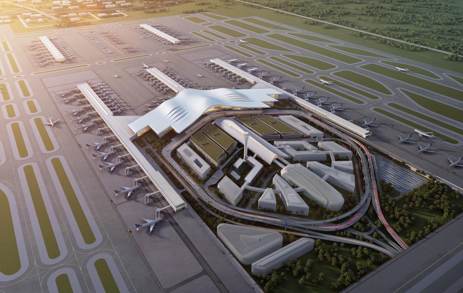 乌鲁木齐国际机场北区改扩建工程