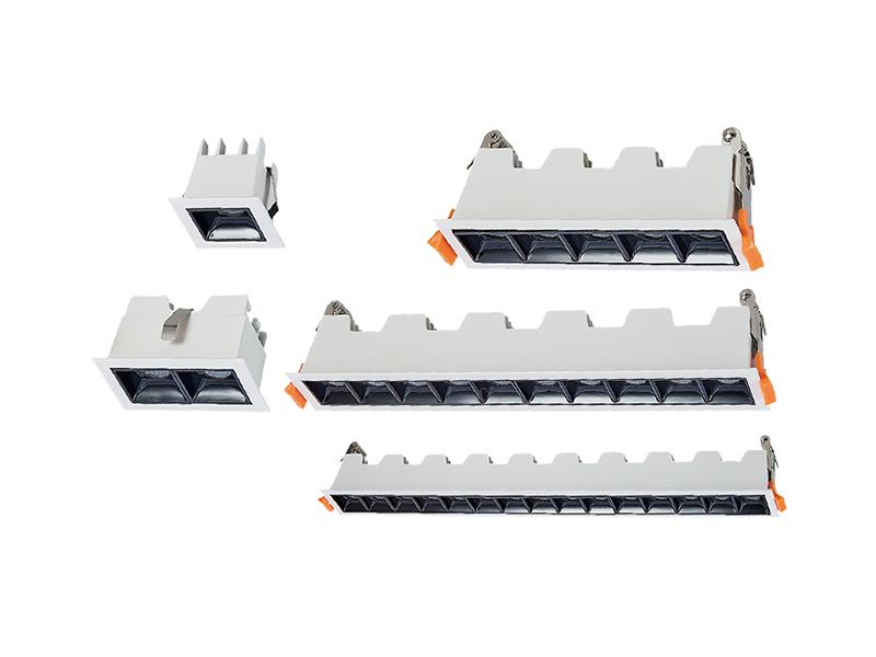 Bar grid lamp series