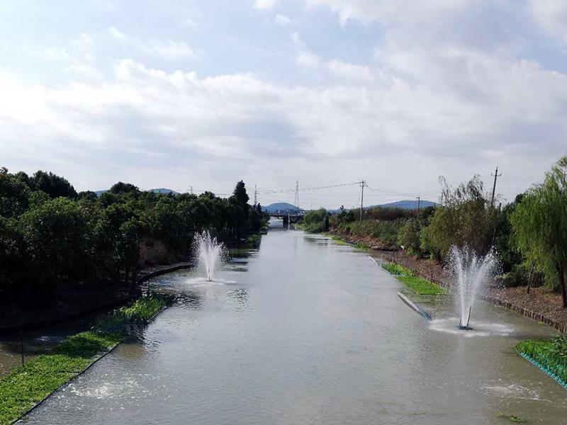乍浦鎮豐收河生態治理工程