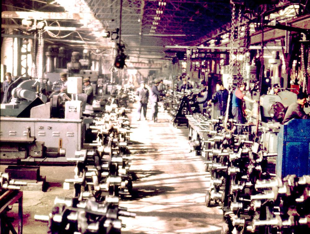 上世紀80年代生產線