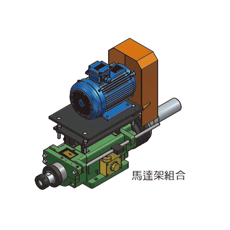 SD8-150 鑽孔主軸頭
