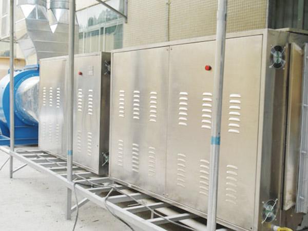 微波催化廢氣處理成套設備