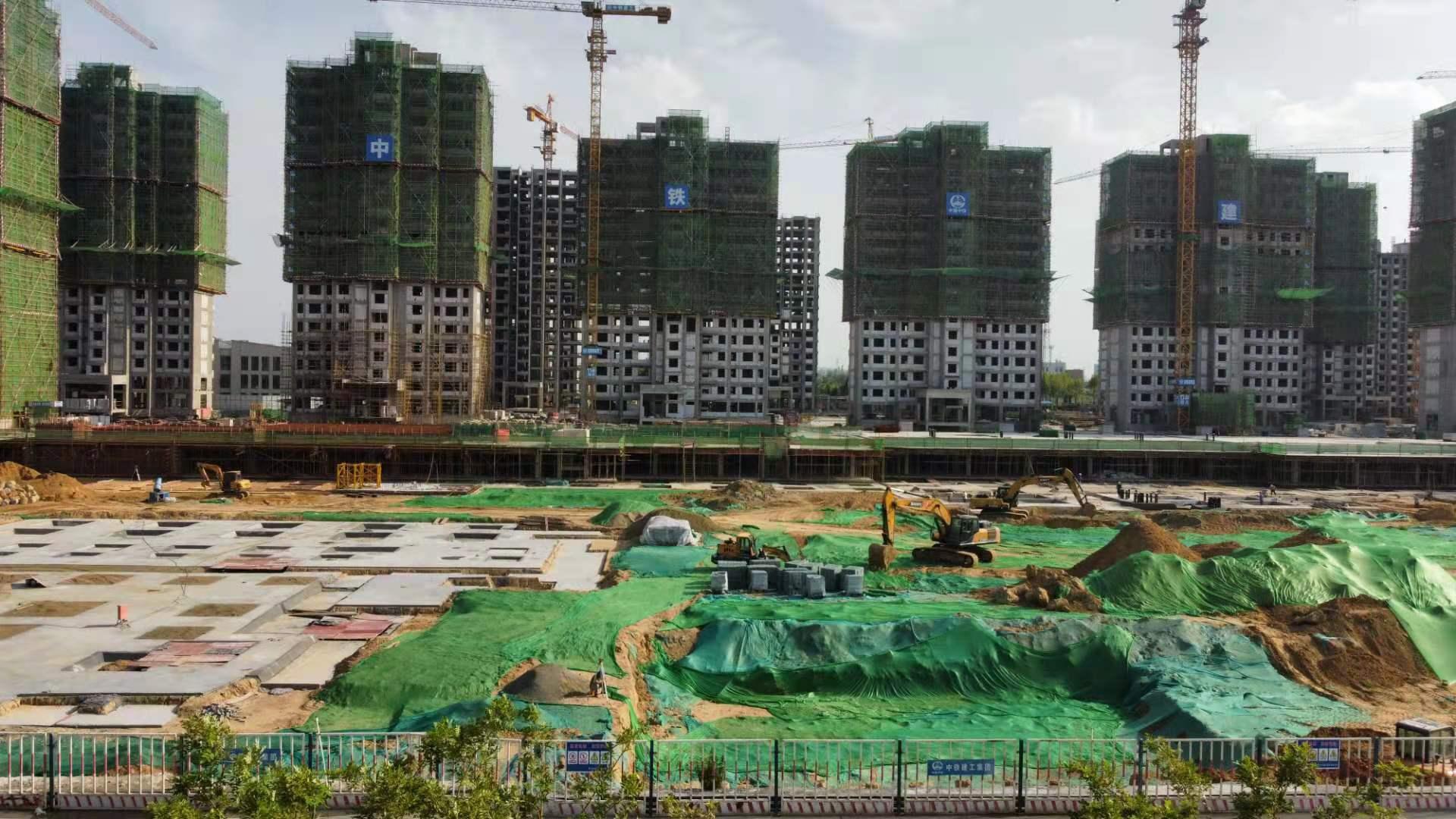 濰坊農綜區國際博覽園項目-中鐵建工