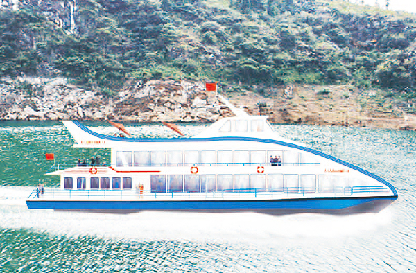 長江豪華旅游船