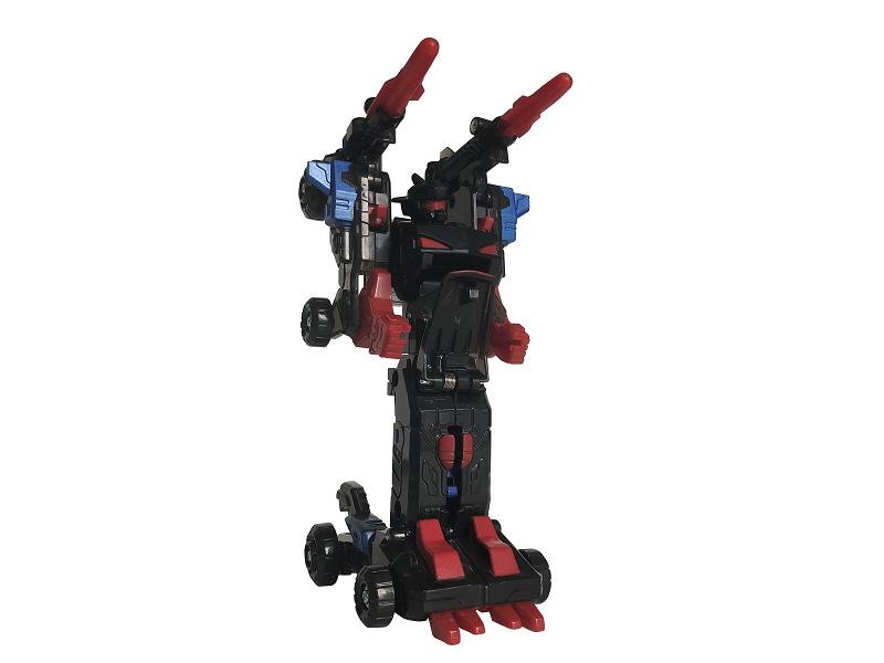 雷域天魔-爆速变形机甲