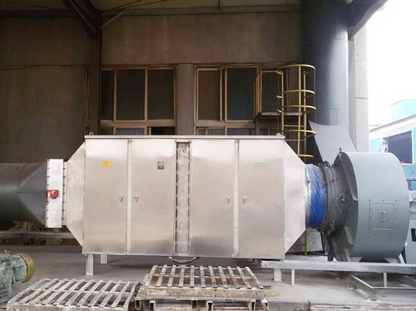 涂料車間VOCs廢氣處理設備