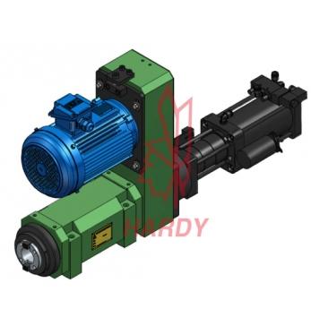 SC80-BT50 氣動打刀缸/搪銑主軸頭