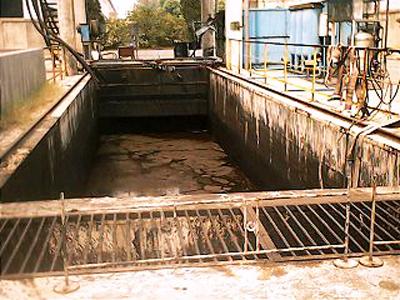 武鋼棒材廠含油廢水脫油脫色處理