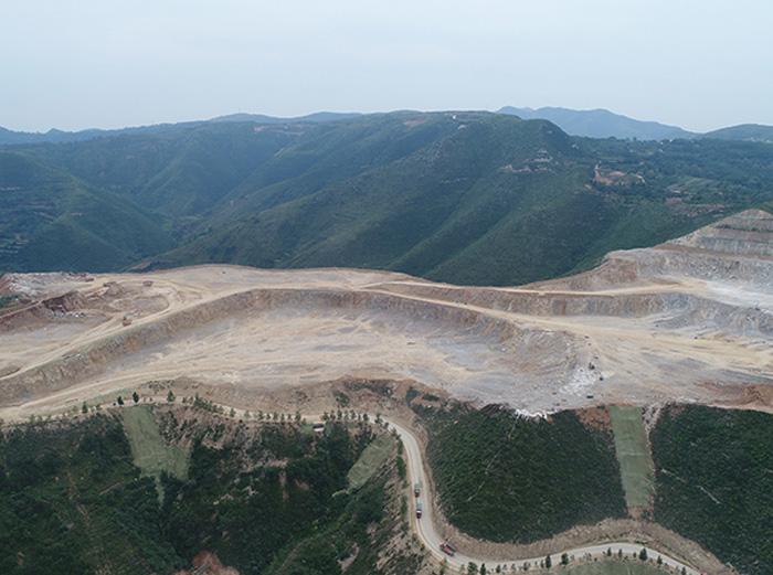 陜煤生態水泥有限公司礦石開采總承包工程