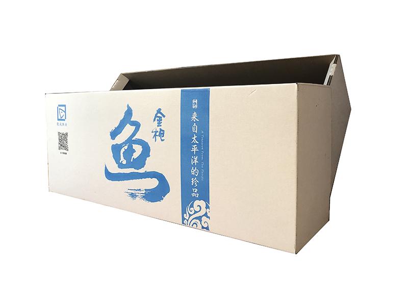 金槍魚涂蠟紙箱