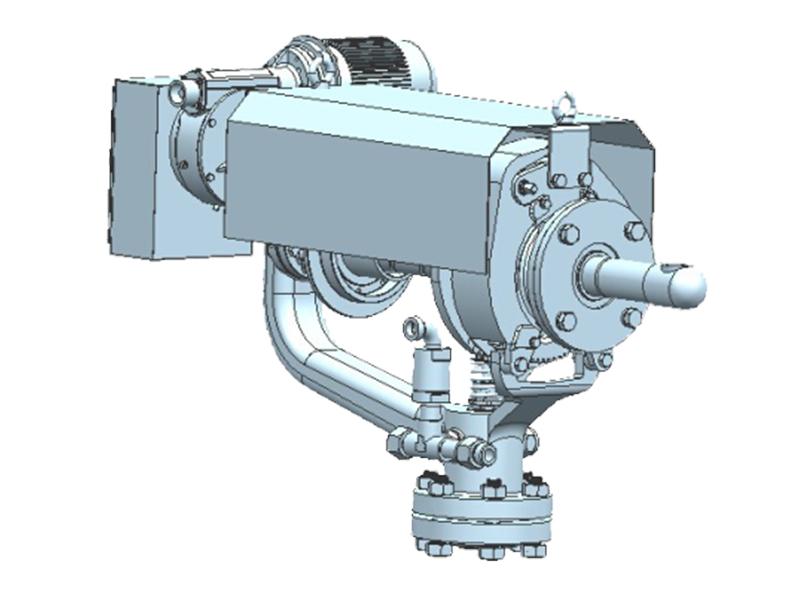 SYD-5A型炉膛吹灰器