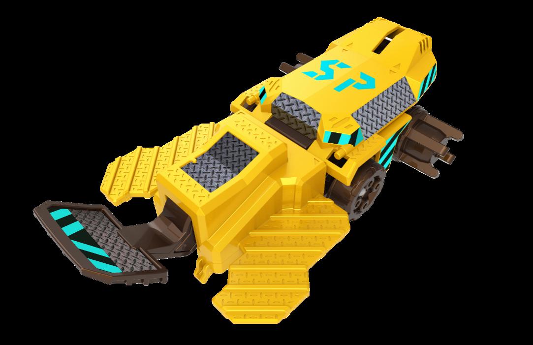 铁甲暴拳-标准版战轮