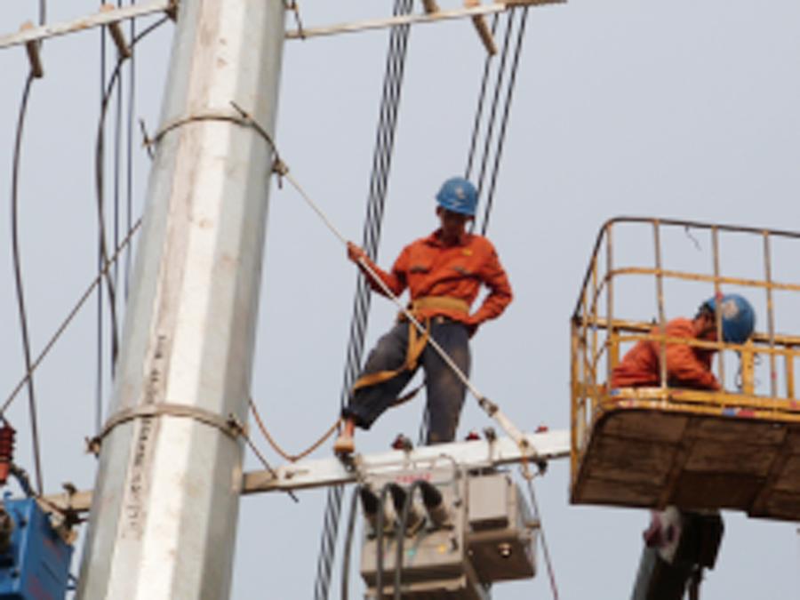 10kv路燈邊配電工程施工