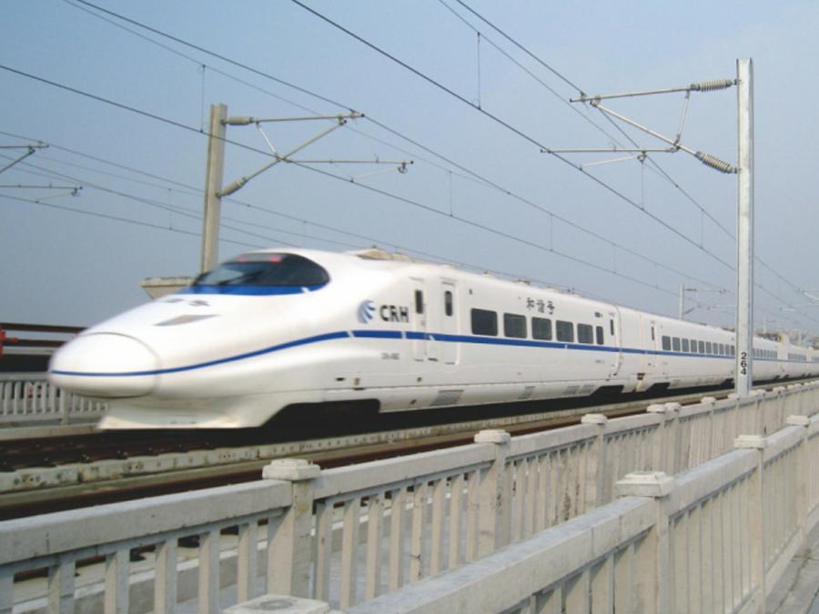 公司生产的IIIc型轨枕用在柳南客运专线上