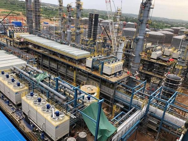 宏兴新能石化60万吨/年芳烃装置