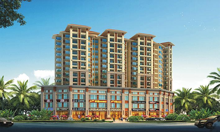海南省珠云恩公寓项目