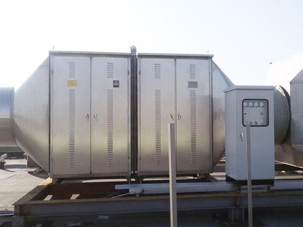 uv光氧催化+活性炭廢氣凈化設備