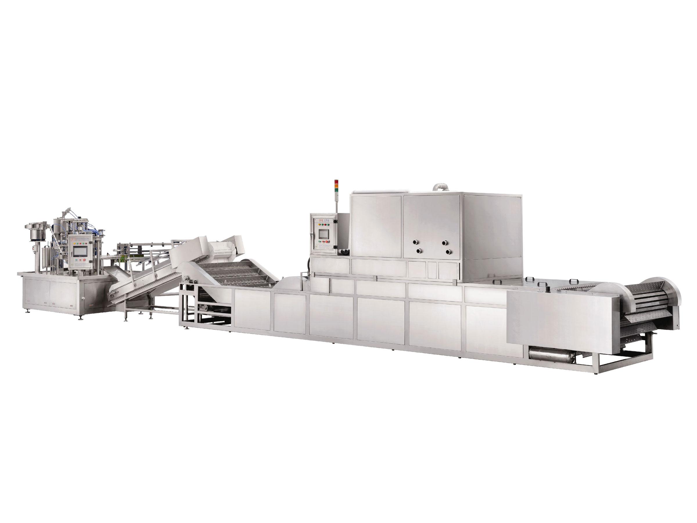 自立袋豆漿生產線