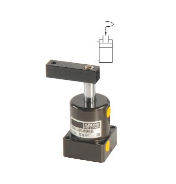 ASC空壓轉角缸(免配管路)