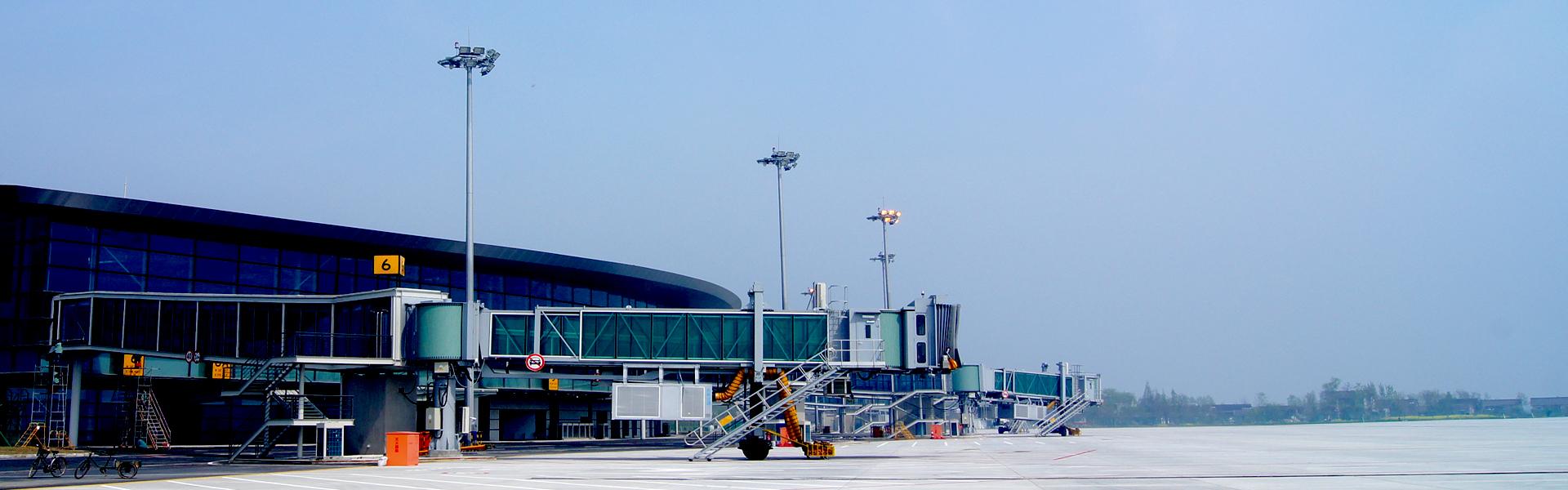 揚州泰州機場高桿燈工程