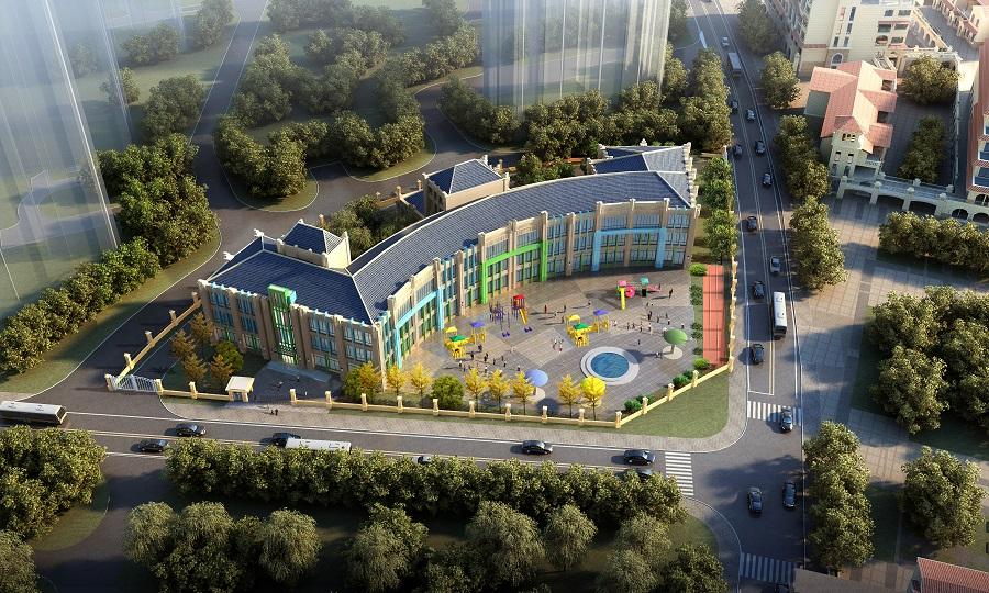 云南昆明城投湖畔四季城(一期)-中坝13地块幼儿园项目