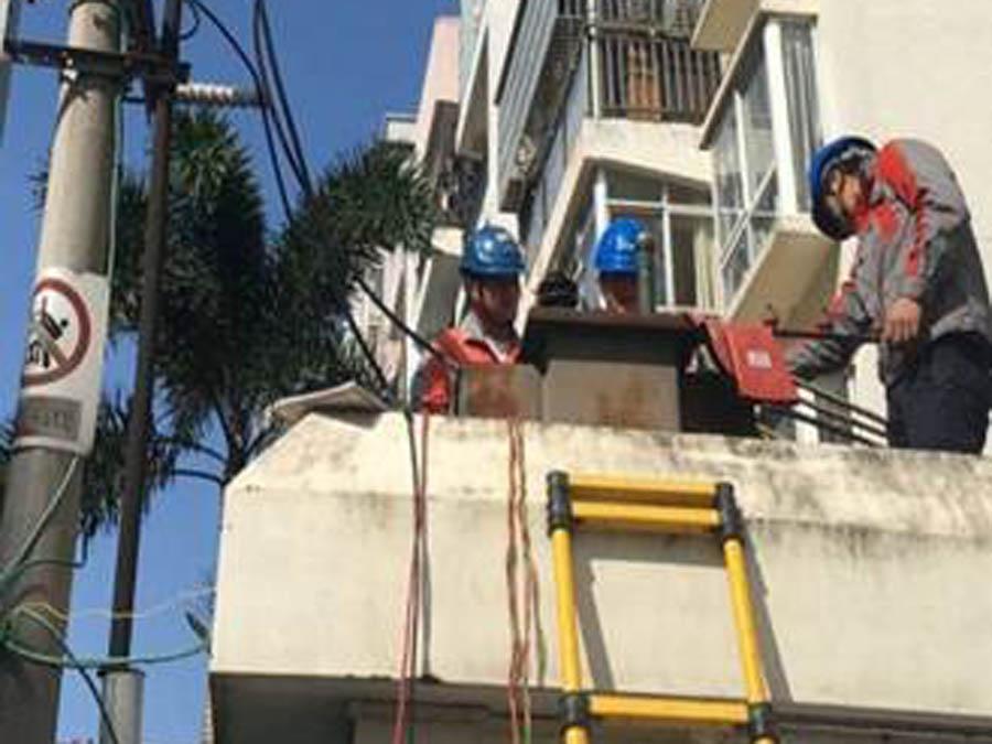 全面支持電力線路施工搶修