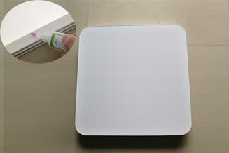 中山灯罩灯饰品(PS材料)用绿川206#PS胶水粘接成功案例分享