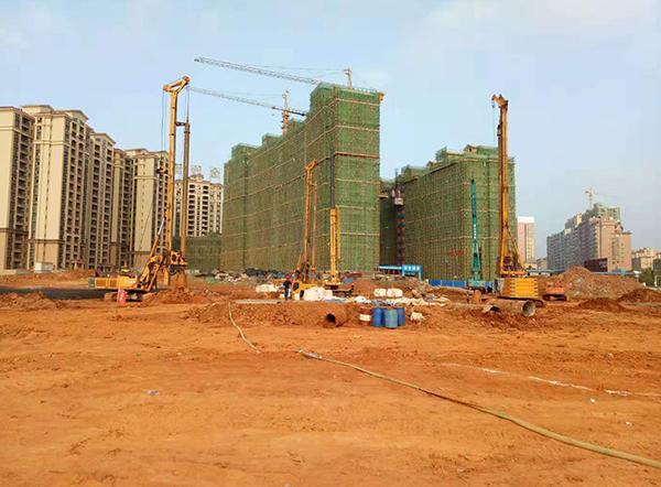 金沙灣B區二期樁基工程
