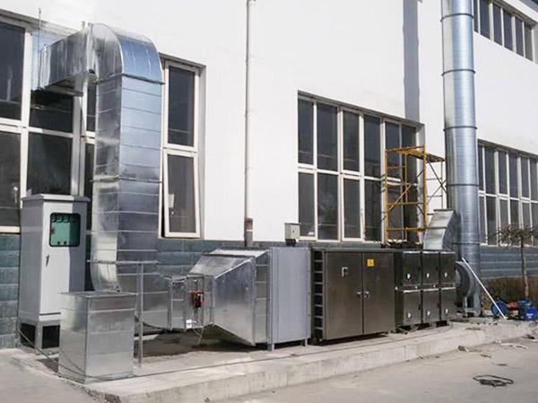 制藥行業廢氣處理