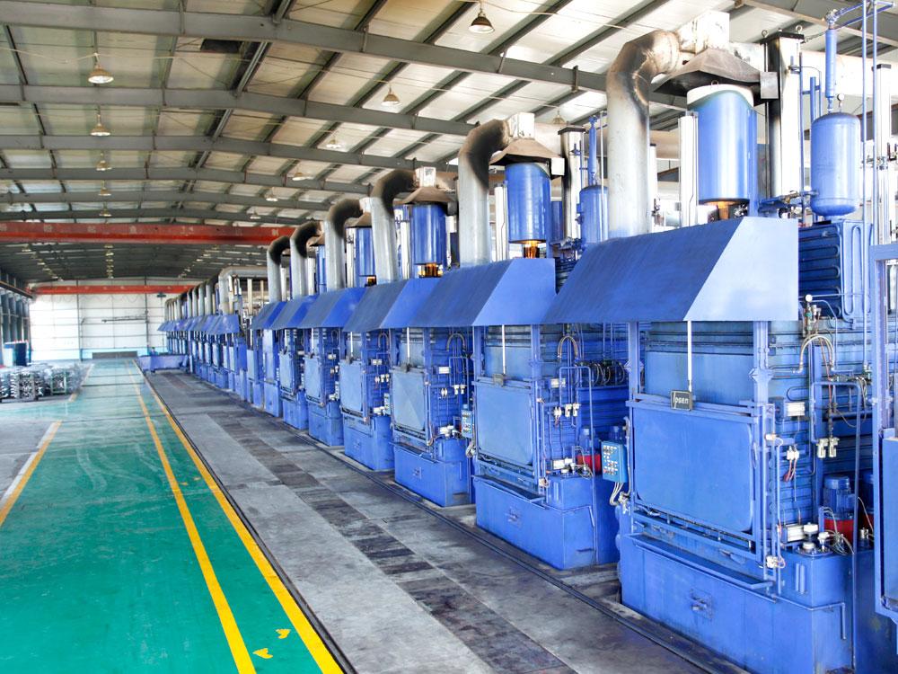 德國IPSEN氣體氮化生產線