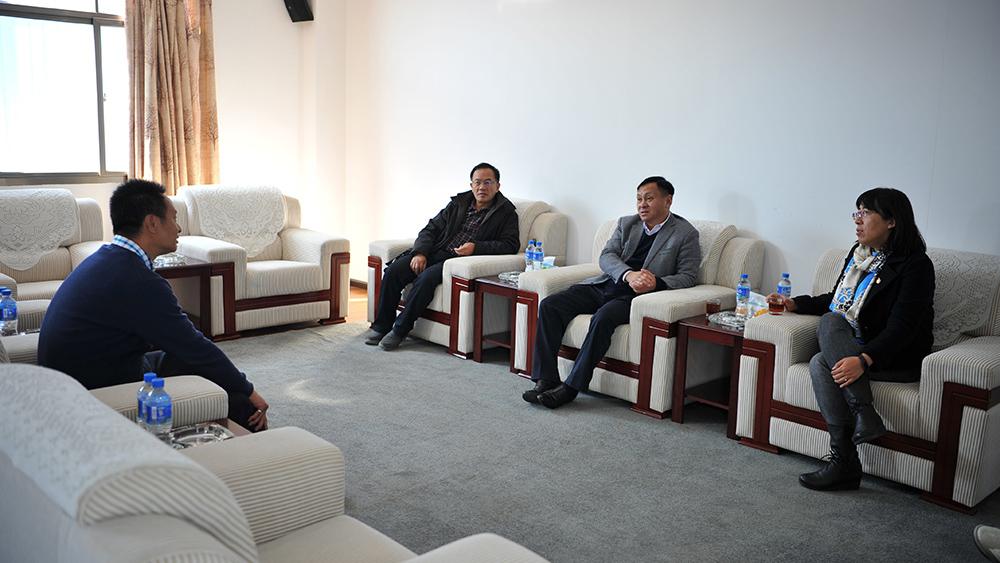 玉溪市委常委、常務副市長柳文煒,副市長胡春雨一行赴我司調研指導上市籌備工作